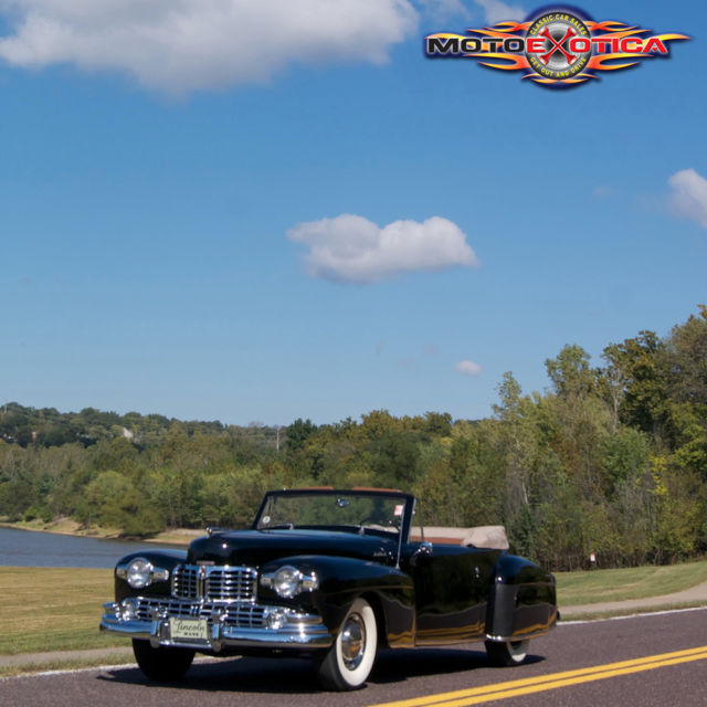 1942 Lincoln Continental Cabriolet,Original Overdrive Trans,Electric Soft top