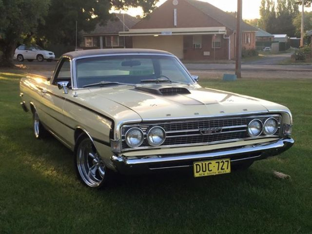 1968 Ford Ranchero GT Ute, NSW Rego, reliable, neat cruiser. XR XT XW XY