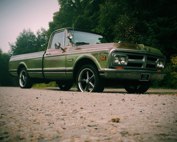 american pick up truck c10 Chevrolet gmc uk registered new mot hot rod original
