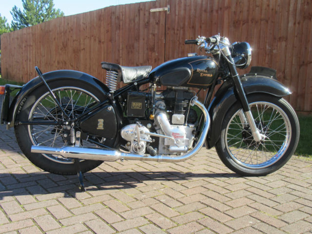 Royal Enfield Model G 1950 classic vintage fully restored