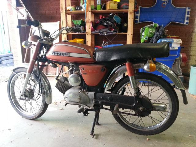 suzuki a100 1975
