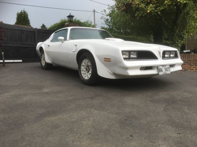 american pontiac trans am muscle v8 original uk registered brand new mot hot rod