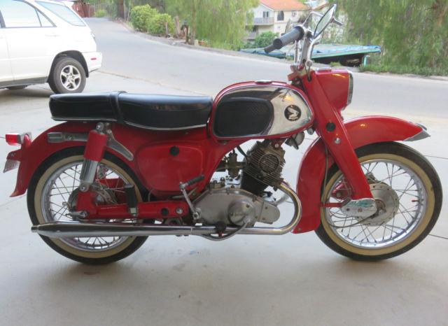1965 Honda Dream 150 Motorcycle