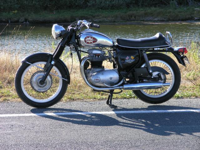 1969 BSA Royal Star 500 Triumph Norton