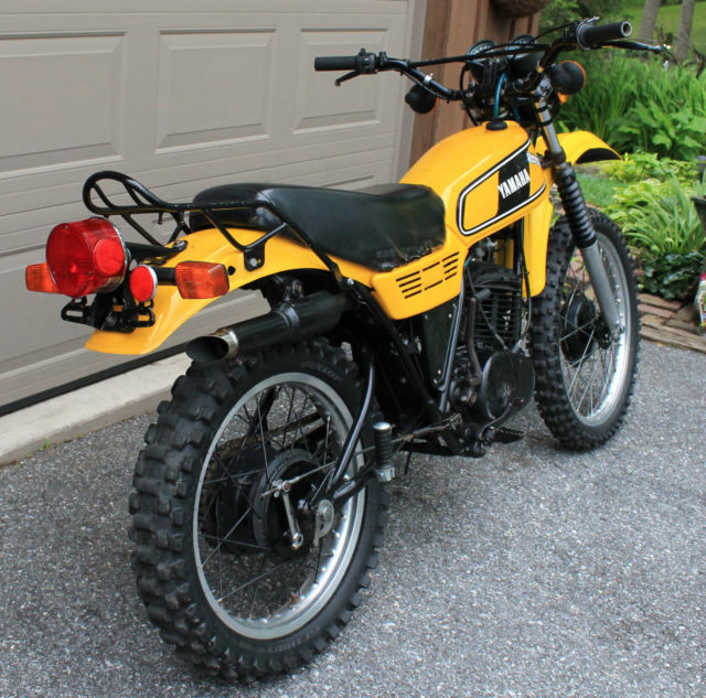 1978 yamaha dt400 dt 400 dt400e enduro dual sport trail. Black Bedroom Furniture Sets. Home Design Ideas