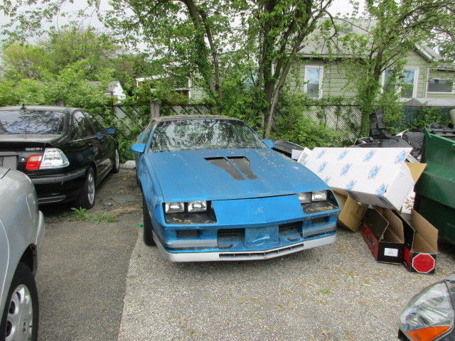 82 Camaro and 83 Camaro Z28 Cross Fire Injected cars