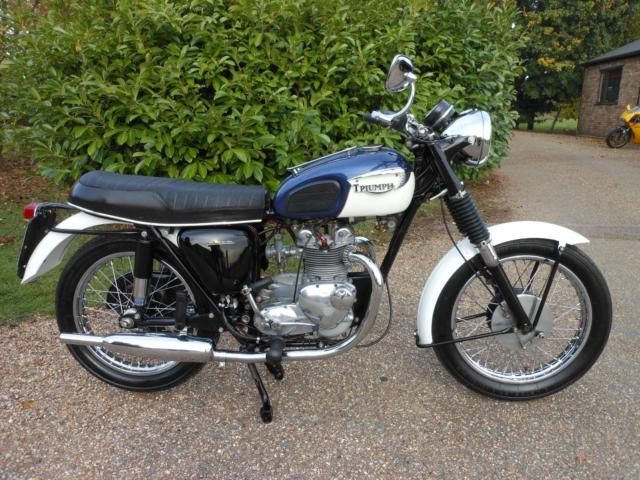 TRIUMPH 3TA, 1966, 350 TWIN WITH MATCHING NUMBERS, LOVELY BIKE, EASY STARTER.