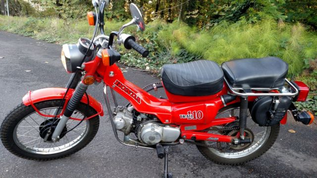 Honda CT110 Dual Sport Titled Trail Bike Excellent Condition On/Off road VIDEO