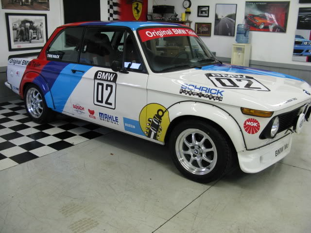 Sporty 1976 BMW 2002 Teile