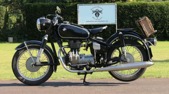 BMW R26 matching numbers 1956 with dutch registration papers