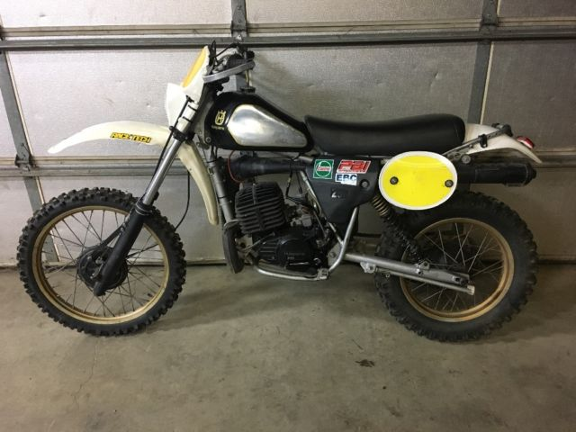 1981 250 wr Husqvarna restored post vintage enduro moto cross