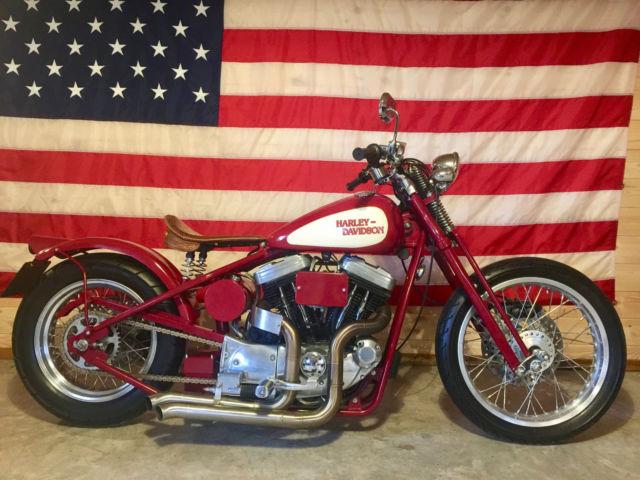 Harley Davidson Custom Hardtail Springer Bobber Chopper