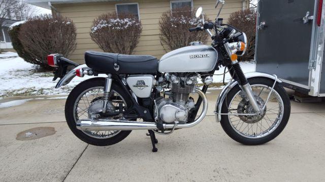 1973 Honda CB450 DOHC
