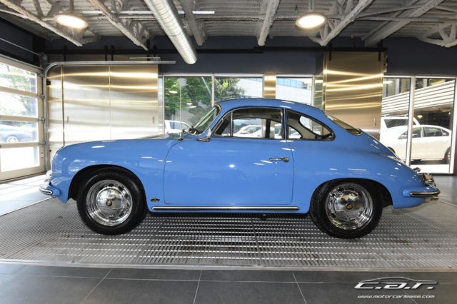 Porsche 356 C Coupe  SKY BLUE