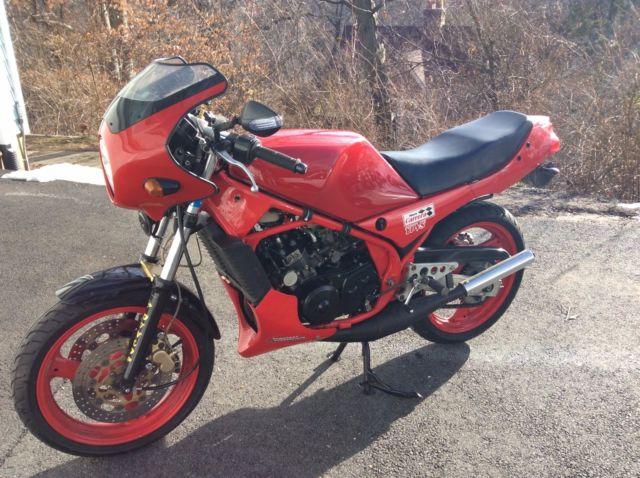 Yamaha Rz350, modified
