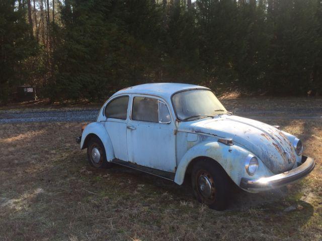 Classic 1974 VW Super Beetle