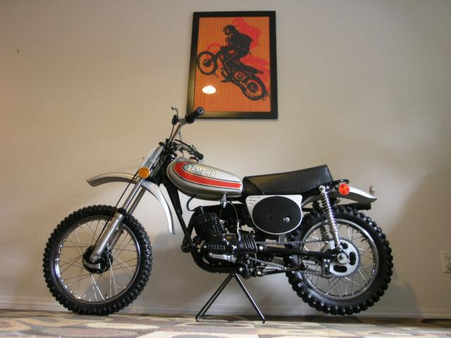 1974 Yamaha YZ80A vintage motocross race bike! YZ80 YZ 80A