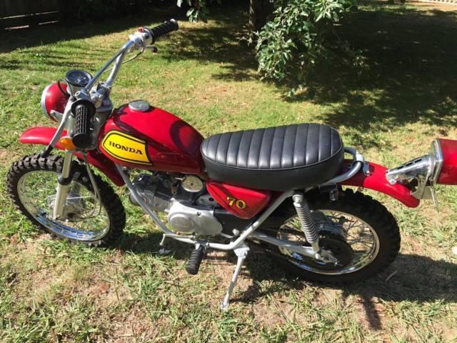 1972 Honda SL 70E