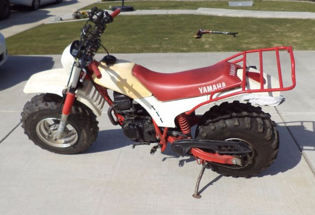 1985 Yamaha BW200 Big Wheel California Bike Pink Slip and Current registration