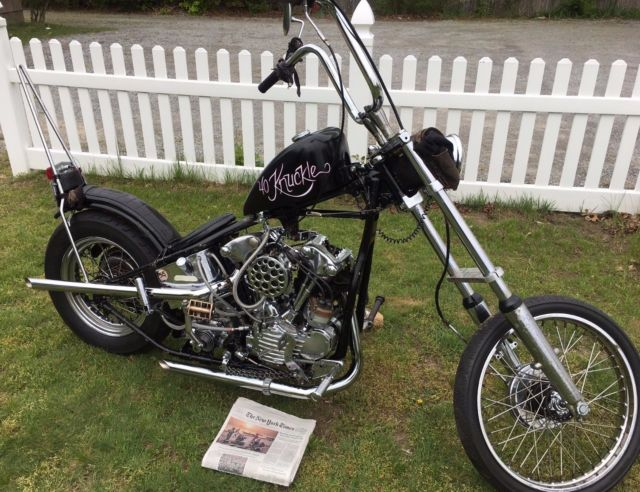 Buy A Knucklehead - Instead of a Panhead, Softtail, Sportster or a