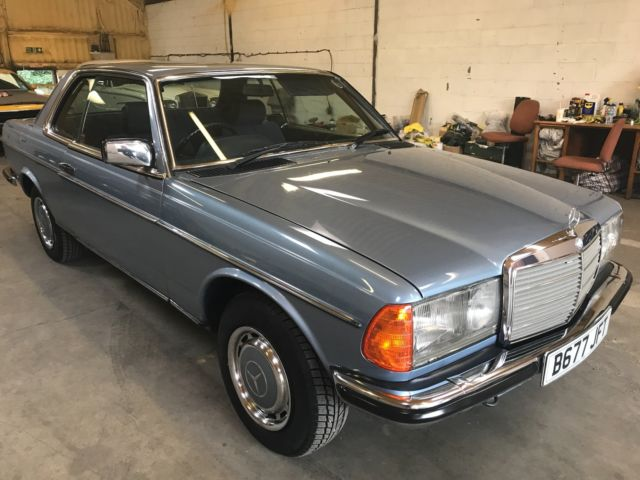 1985 MERCEDES-BENZ 230CE 124000 MILEAGE VERY GOOD CONDITION HPI CLEAR
