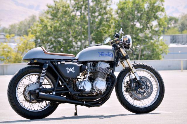1974 Honda CB750K Cafe Racer Custom