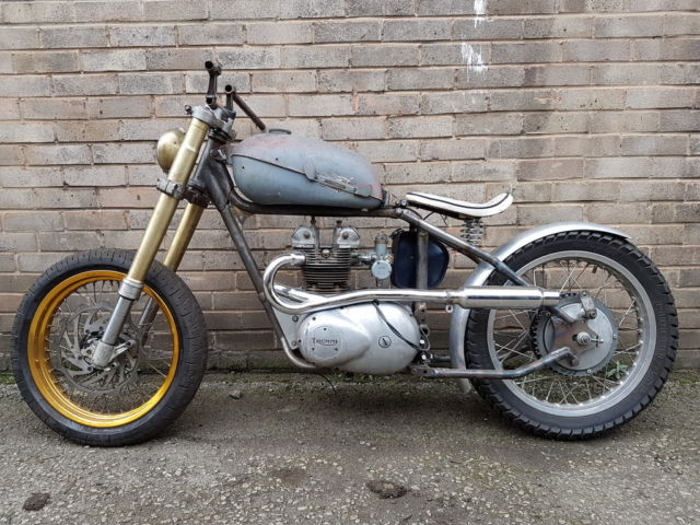 Triumph 21 Twenty One T90 Engine Custom Chopper Bobber Hard Tail Tax MOT Exempt