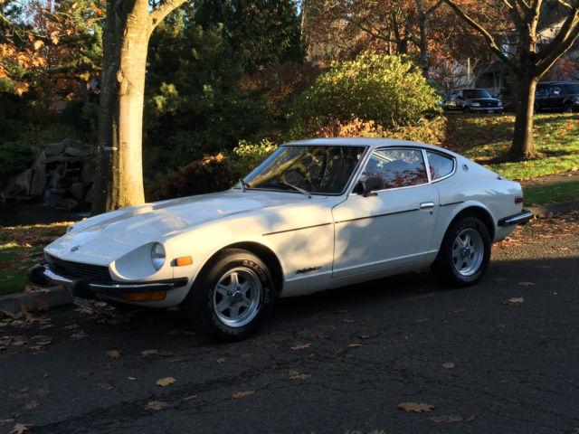 1974 Datsun Z-Series Datsun, Nissan, 240Z, 260Z, 280Z, 350Z, Sport Car,