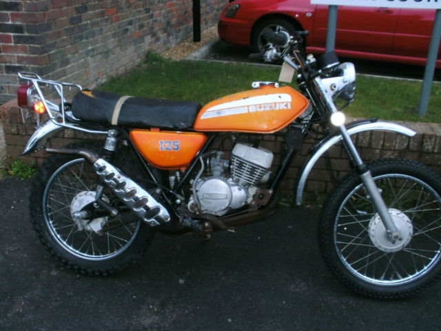 1974 Suzuki TC125L ts125 twin shock trail bike  EASY PROJECT TO  RESTORE £1150