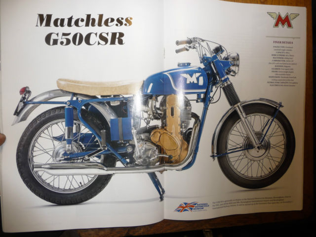 Other Makes : MATCHLESS CSR GOLDEN EAGLE 500 OHC
