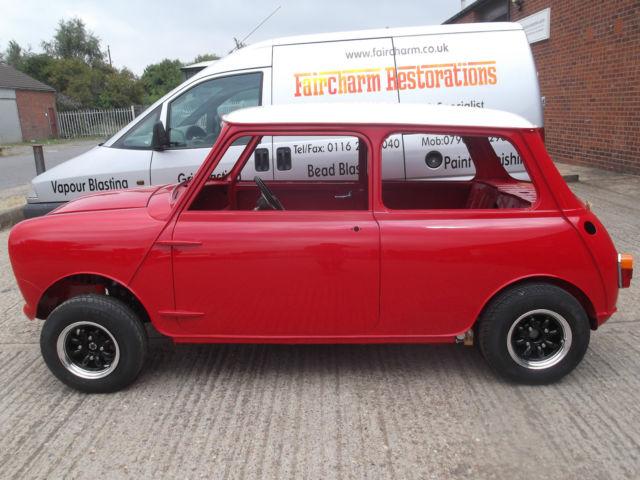 classic Mini cooper 1963 project