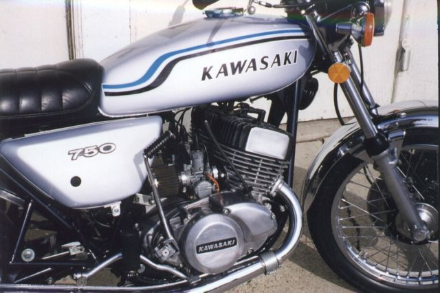 1975 KAWASAKI H2C SURVIVOR FRESH USA IMPORT ONLY 8k MILES one of only 5000 built