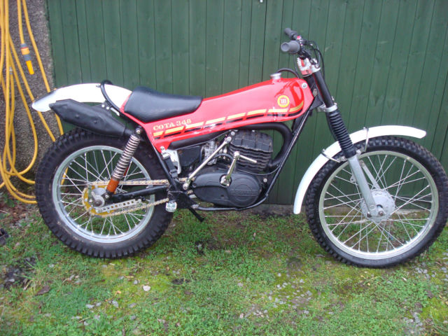 montesa cota trials bike 1978 348cc for sale millom. Black Bedroom Furniture Sets. Home Design Ideas