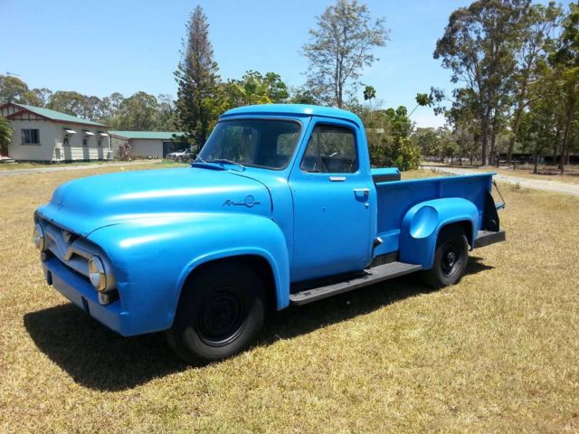 1955 Ford F250 Step Side Long Bed Pickup Truck F100 F150 Ute Pick Up Hot Rod For Sale Gold Coast