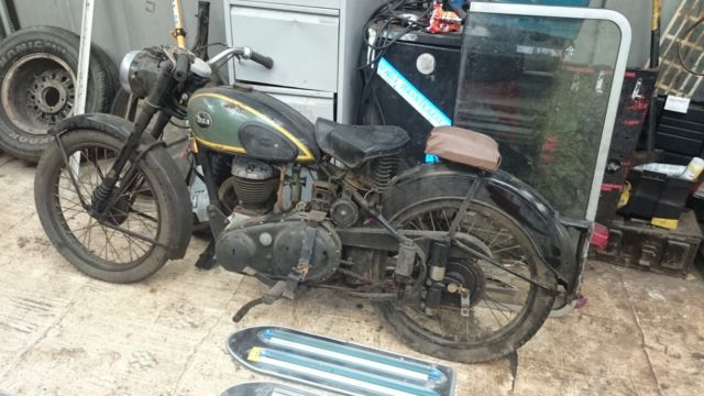 BSA C10L 1954 250cc side valve***genuine barn find***perfect restoration project