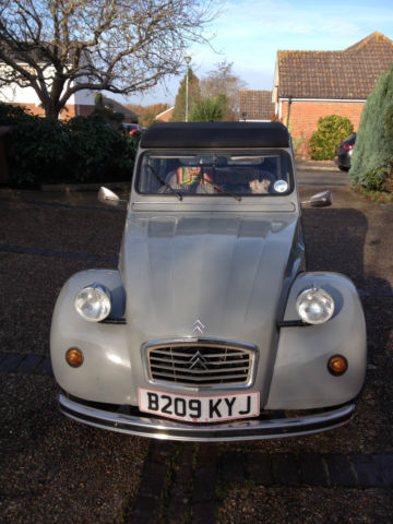 1985 CITROEN 2CV6 GREY fully restored, service history