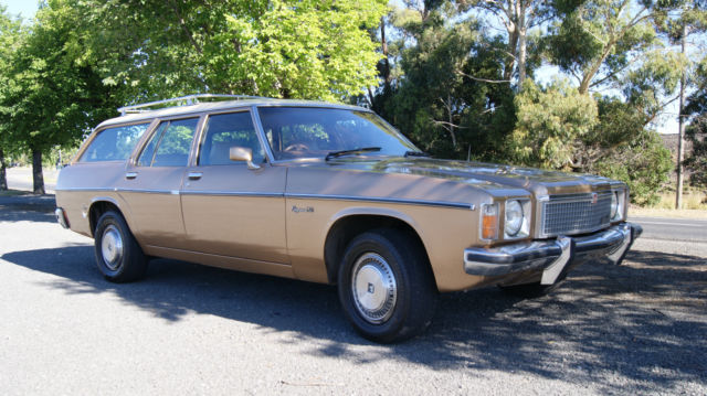 Holden Kingswood SL Vacationer (1978) 4D Wagon 3 SP Automatic (4.1L - Carb)
