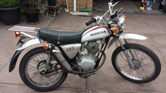 Honda SL125 1973