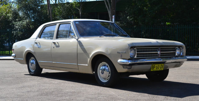 Holden Kingswood (1968) 4D Sedan 3 SP Manual (3L - Carb)