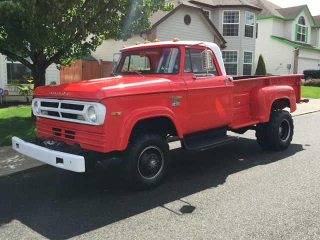 1970 Dodge Other Pickups Power Wagon, Ram, 4x4, Dually, Stepside,Fire Truck