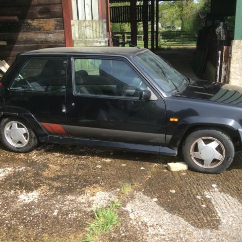 1988 Renault 5 GT Turbo Breaking for spares only