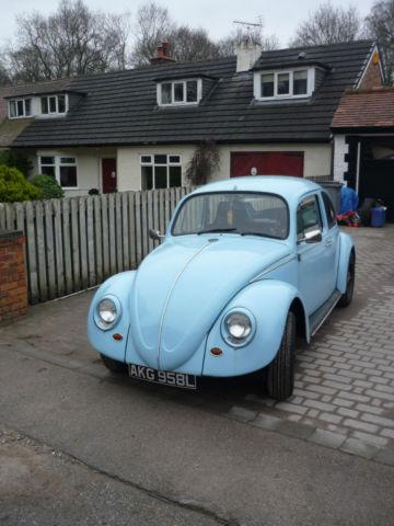 V.W. Classic Beetle 1972 (12 months MOT)