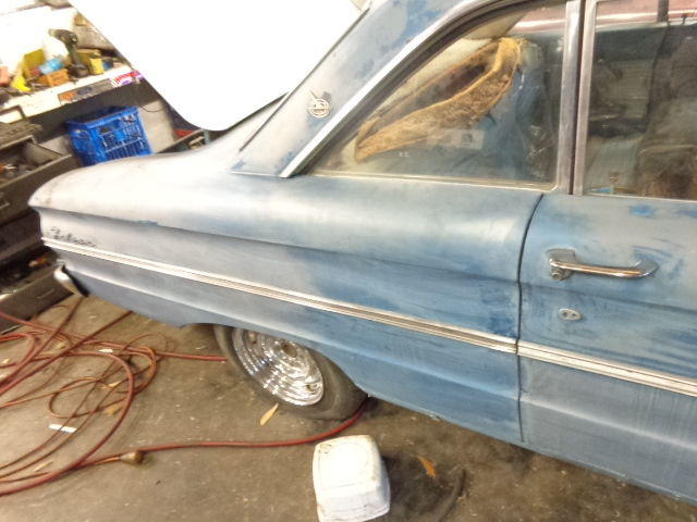 1963 FORD FALCON FUTURA COUPE USA CA CAR BUCKET SEATS