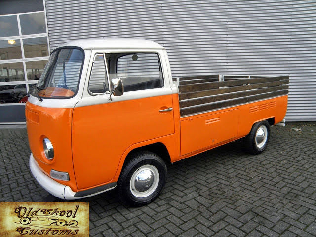 VW T2A Single Cab 1968