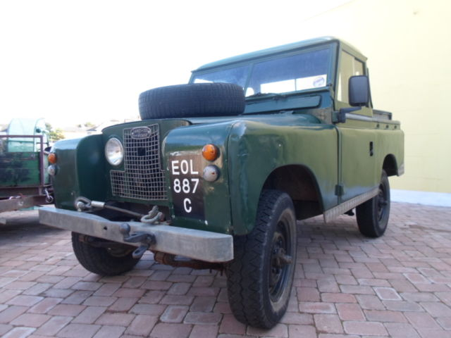 Series 2 land rover 1965