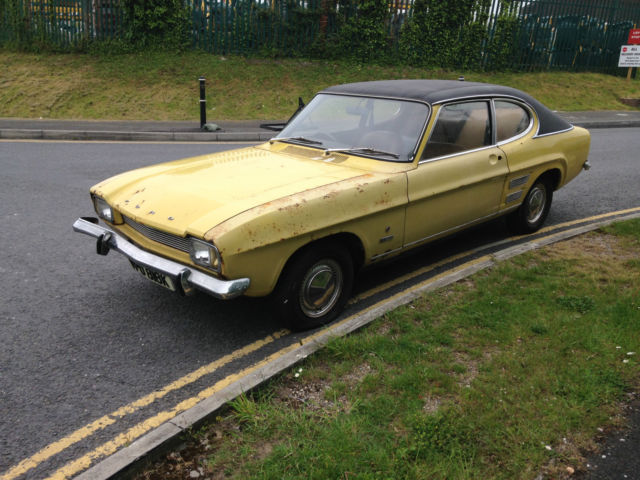 Mk 1 Ford Capri 1971 1600 L Auto barn/garage find!!!
