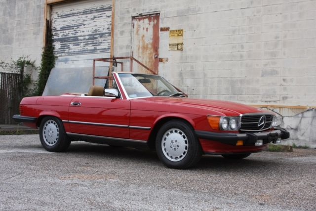 1988 Mercedes-Benz 500-Series 2dr Roadster