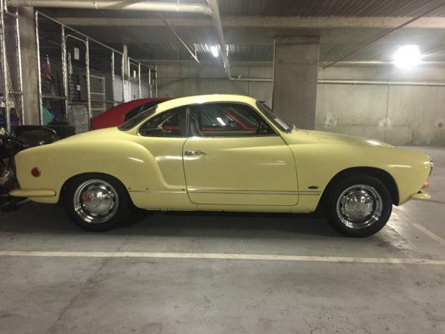 Karmann Ghia 1968 - NO RESERVE!!!