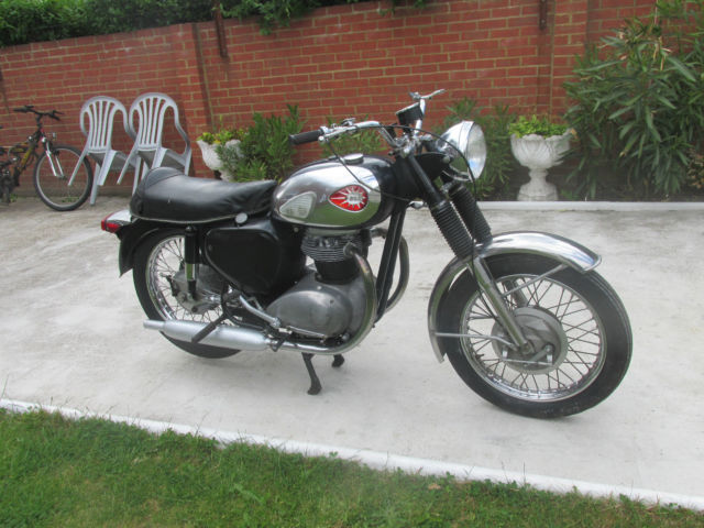 BSA A65 1964 Project ( With old Buff Log Book)