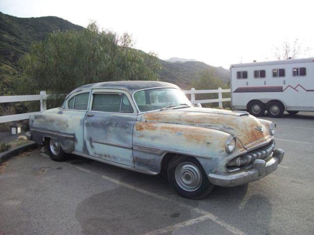 Rare 1954 desoto firedome Hemi v8 coupe project nt Chevrolet Chrysler ford Dodge